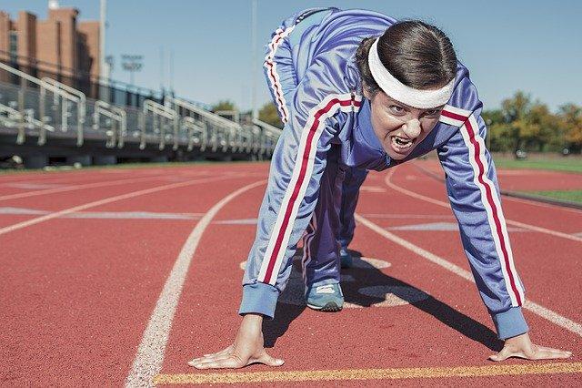 Juoksija nopea aloitus
